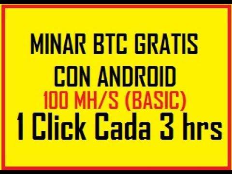 COMO GANAR BITCOINS GRATIS CON ANDROID ® SERVER BITCOIN MINER