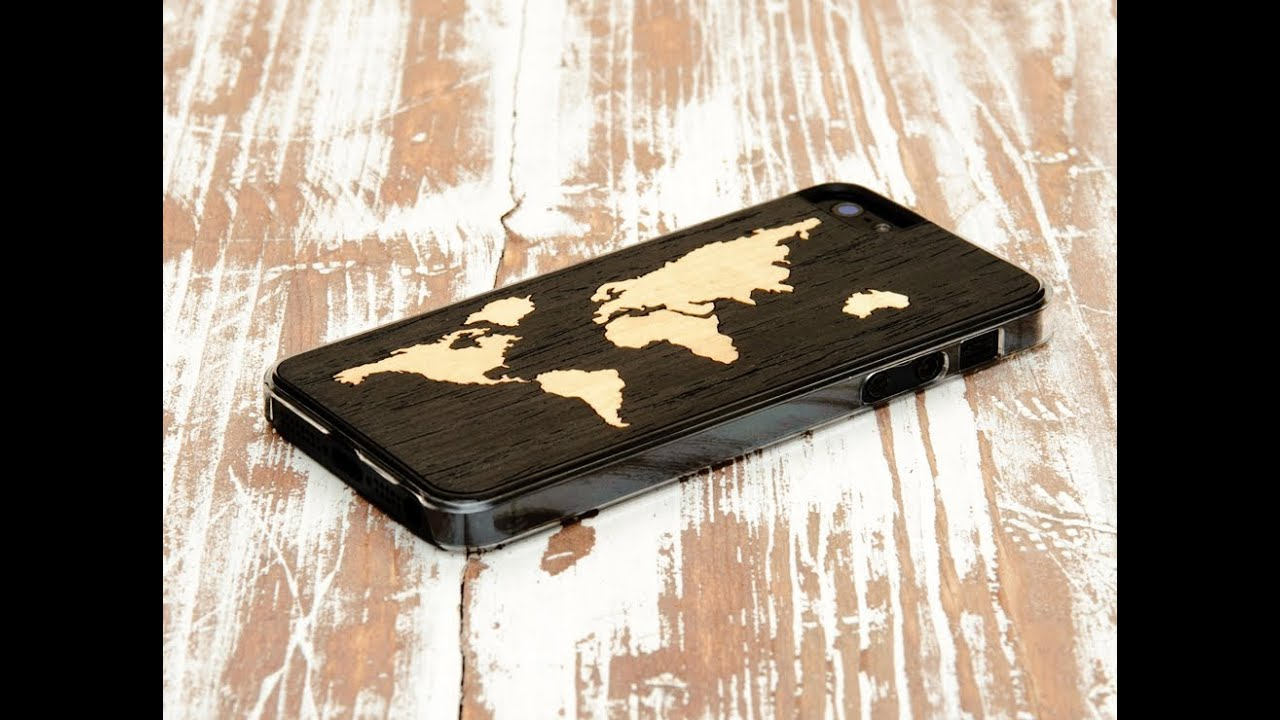 Carved wood cases for the iphone 5 and 5s youtube gumiabroncs Images