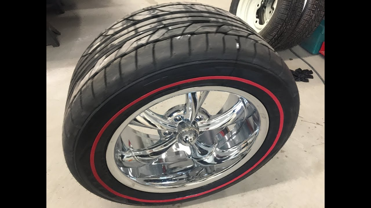 Red Line Tires >> Gradient White Wall Tires Tredwear Red Line Install Youtube