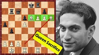 This Is A Piece Of Art! Mikhail Tal Needs No Queen