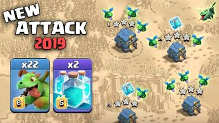 22 Baby Dragon + 2 Max Clone Spell + E-Drg :: NEW TH12 WAR 3 STAR ATTACK STRATEGY 2019 (Updated)
