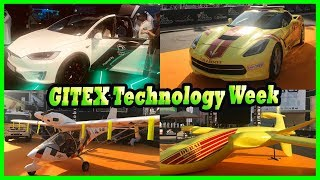 GITEX Technology Week in Dubai, UAE Review 2017. Technology of the Future 2017