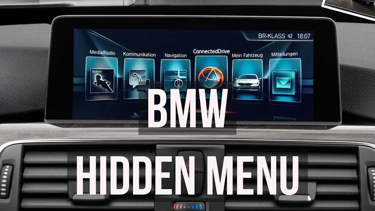 BMW Hidden Menu 320d 520d M sport | Tutorial