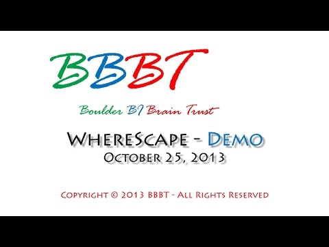 WhereScape Demo 2013