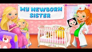 My Newborn Sister | Mommy & Baby Care | TabTale