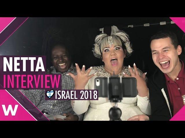 Netta (Eurovision 2018 winner) Interview @ London's Heaven