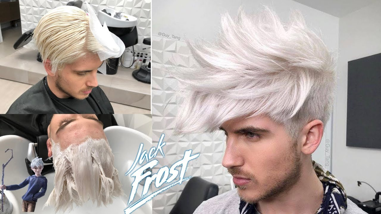 WHITE Platinum Hair Color