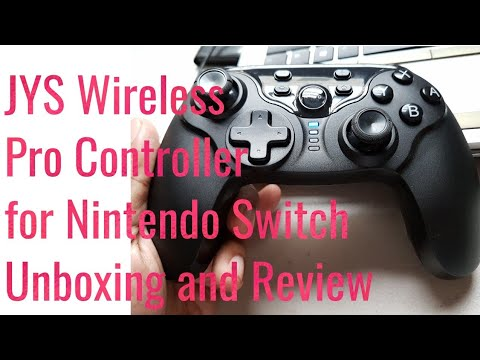 JYS Wireless Pro Controller for Nintendo Switch - Unboxed and Tested