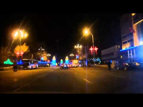 Night Driving in Mudanjiang, China