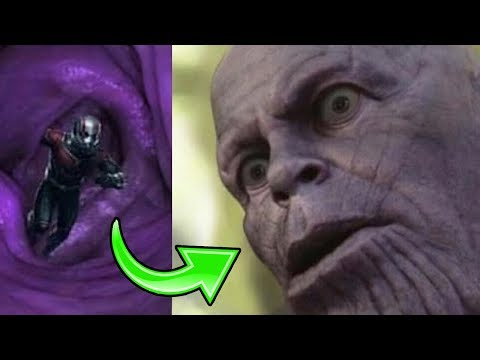 What if Antman Crawls Up Thanos' Butt and Wins Endgame? - Avengers Endgame Theory