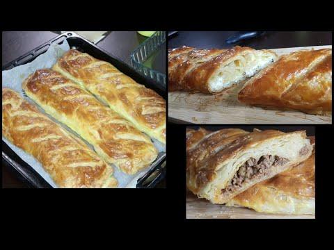 katmer-#ramazan2020-recette-d'une-pâte-feuilletée-🇹🇷-farcie-à-la-viande-hachée-/fromage-un-délice
