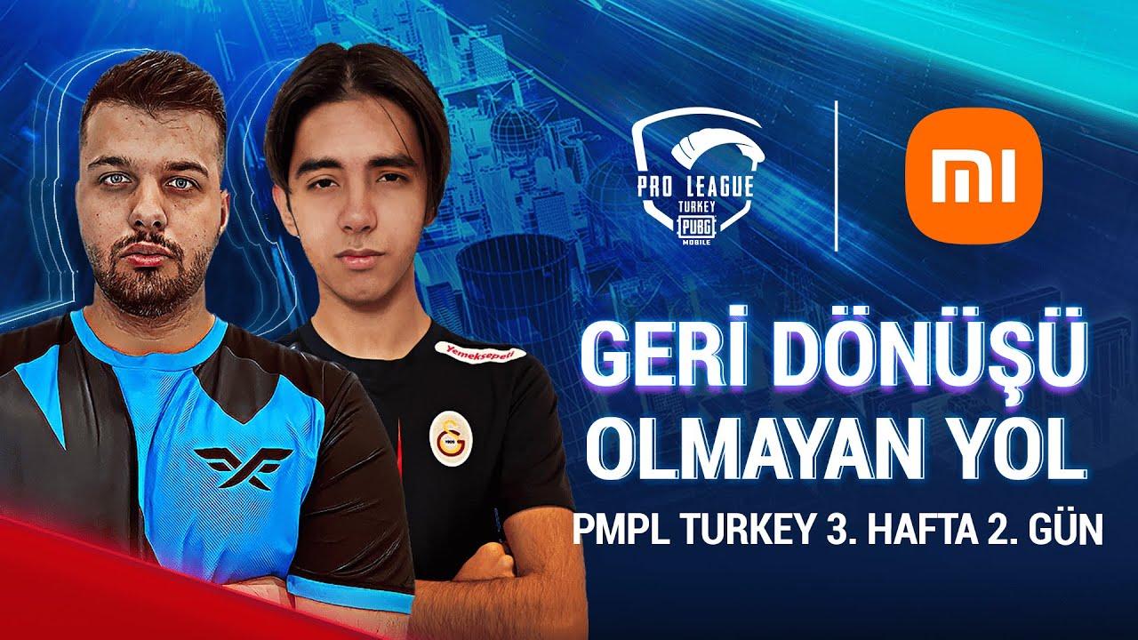 [TR] 2021 PMPL Turkey H3G2   Sezon 2   Xiaomi   PUBG MOBILE Pro League 2021
