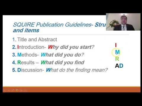Publishing Quality Improvement Project