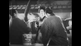《河内山宗俊》(1936)由青年天才導演山中貞雄執導, 此段描寫無賴河内山...