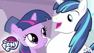 My Little Pony en español  Una boda en Canterlot. Primera parte | La Magia de la Amistad | Completo