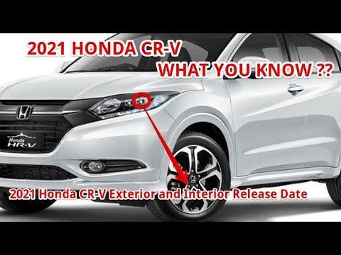[BEST] 2021 Honda CR-V Exterior And Interior Release Date