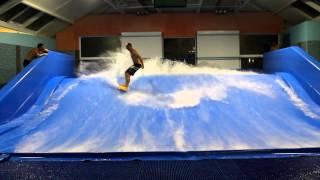 Серфинг в Москве! Искусственная волна