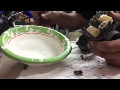 Yamaha TTR 125, carb. Rebuild- episode 2