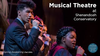 Musical Theatre at Shenandoah Conservatory