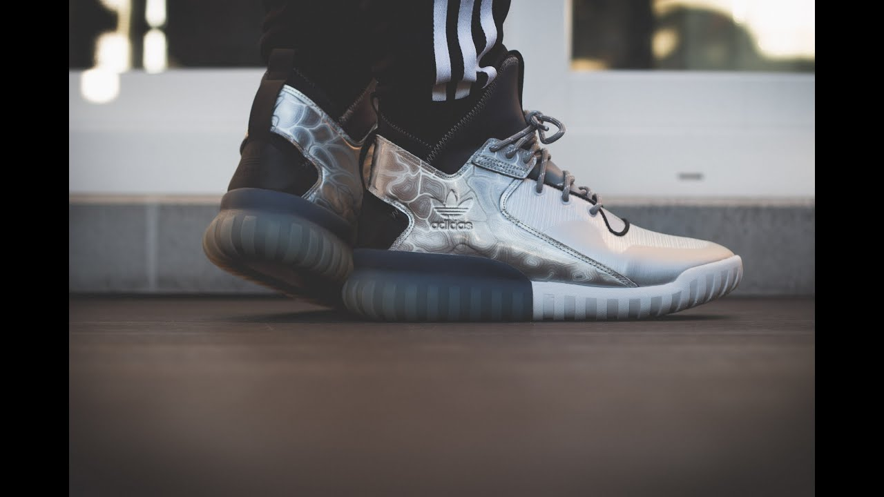 Adidas Originals Tubular Doom Primeknit 'Heathered Gray: Young