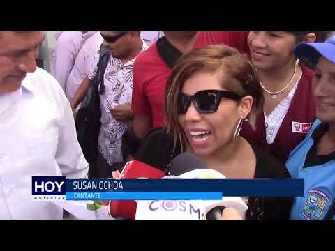 Chiclayo: Susan Ochoa llega a Chiclayo para concierto en Pátapo