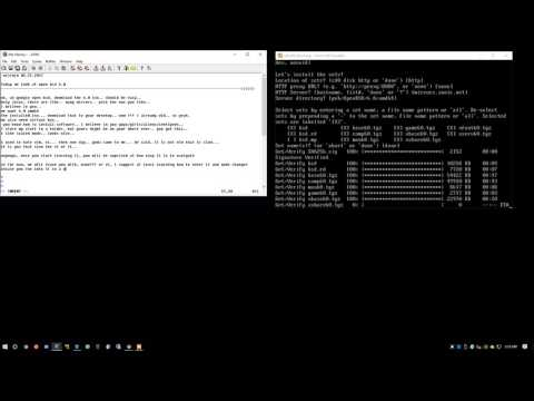 OpenBSD 6.0 Install & Commands