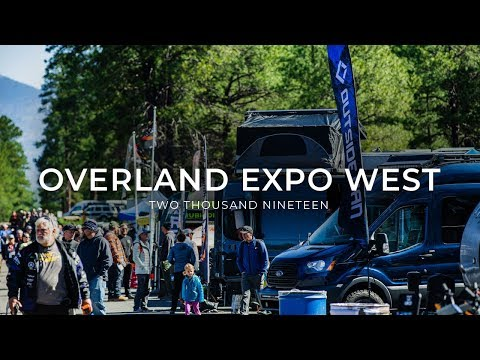Outside Van at Overland Expo West 2019