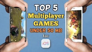 Top 5 Multiplayer Games for iOS, Under 50 MB