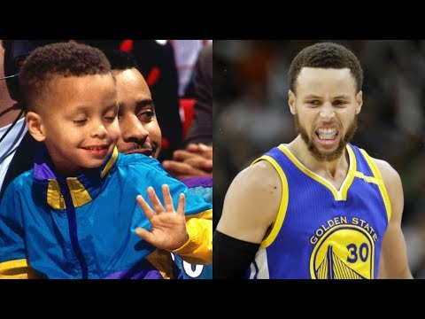 Stephen Curry transformation from 1 to 29 years old