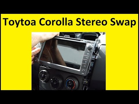 Toyota Corolla Stereo Swap - Seicane Multi-media Player for Stock Radio