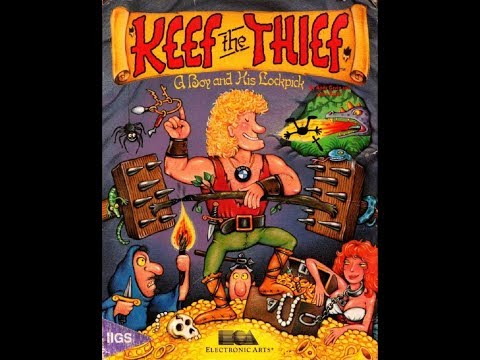 Keef The Thief (1989) - DOS Gameplay Video (PC MS-DOS)