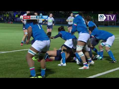 HIGHLIGHTS | Scotland Women v Italy Women
