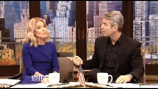 Andy Cohen - Chats About A Scare With Skin Cancer - Kelly Live