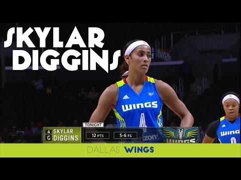 Skylar Diggins Highlights vs Los Angeles Sparks - 6.28.16