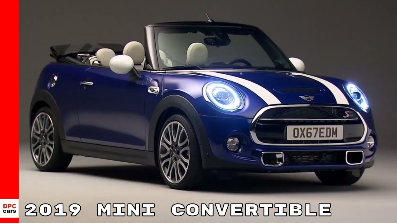 2019 Mini Convertible Walkaround Interior Drive