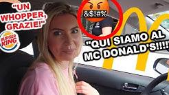 ORDINIAMO BURGER KING AL MC DRIVE!!!!! (SI SONO INC***ATI DAVVERO)