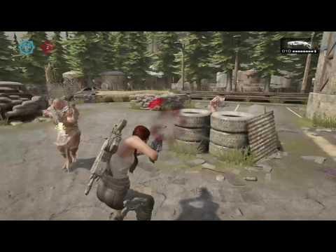 Gears of War 4 BETA Destruction