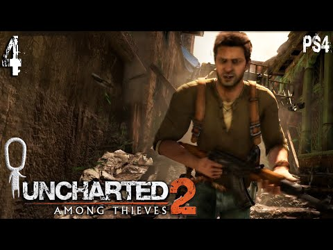 Let's Play ► Uncharted 2: Among Thieves - Part 4 - Urban Warfare [Blind][Drake Collection]
