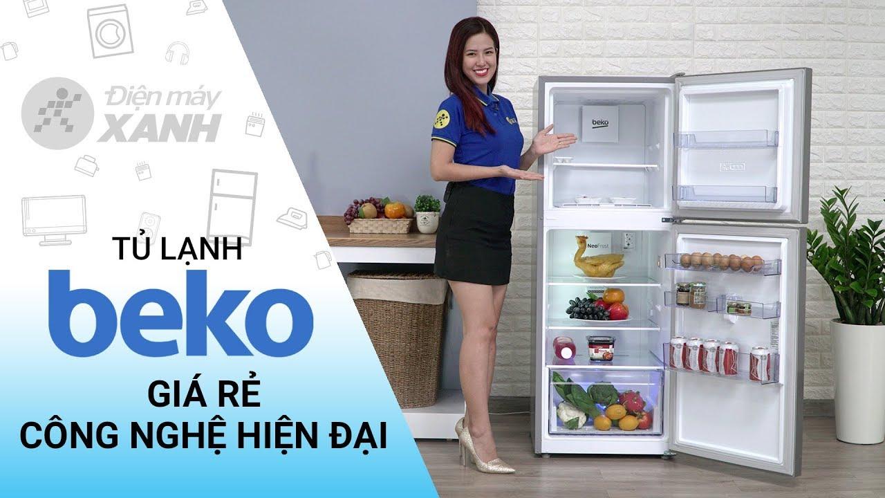 Tủ lạnh Beko Inverter 230 lít: giá rẻ, nhiều công nghệ hiện đại (RDNT230I50VS) | Điện máy XANH