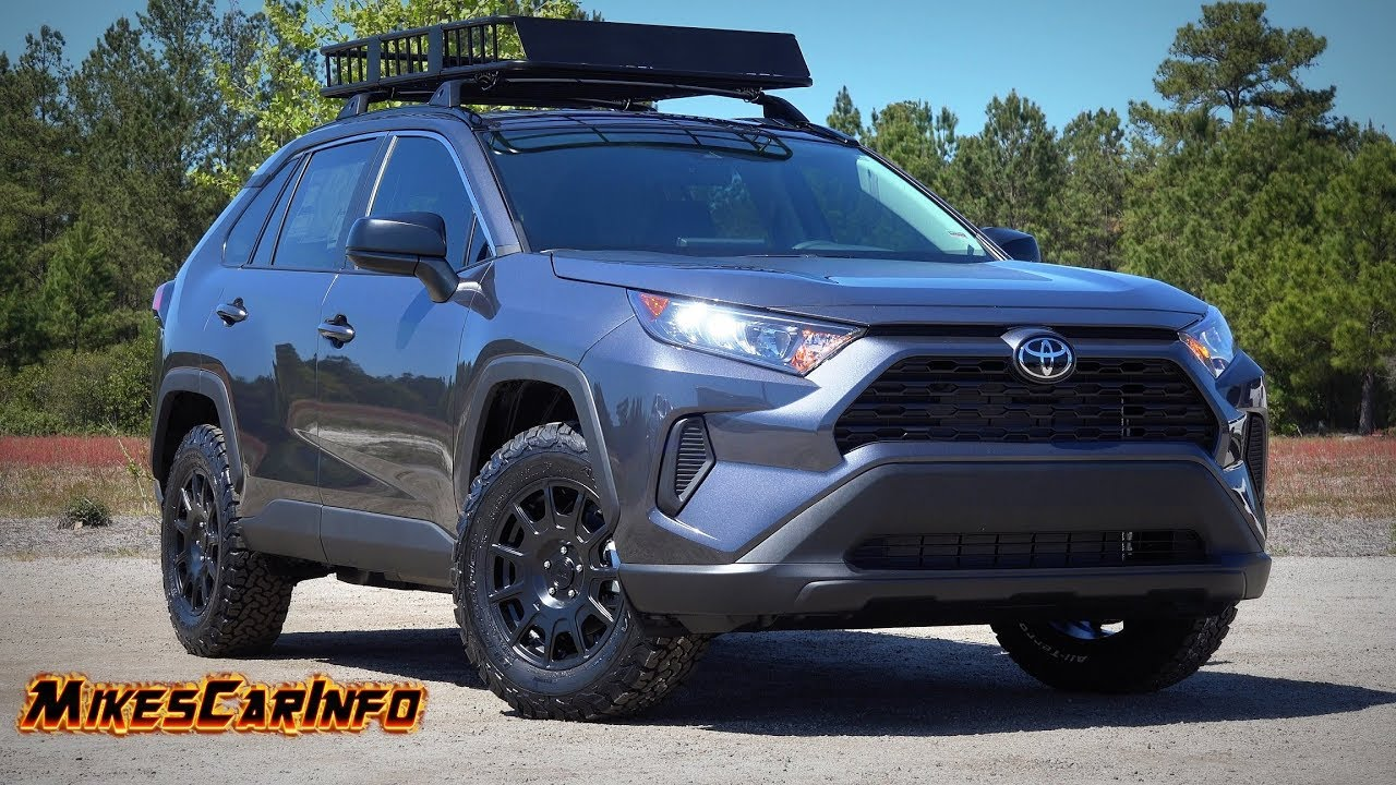 2019 Toyota Rav4 Trail King Quick Look Youtube