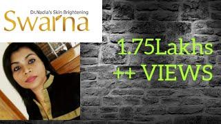 Gambar cover സ്വറ്ണ്ണ  ആയുറ് വേദിക് ക്റീമ് Swarna Ayurvedic skin brightening cream -Dr.Nadia.M.Vijay