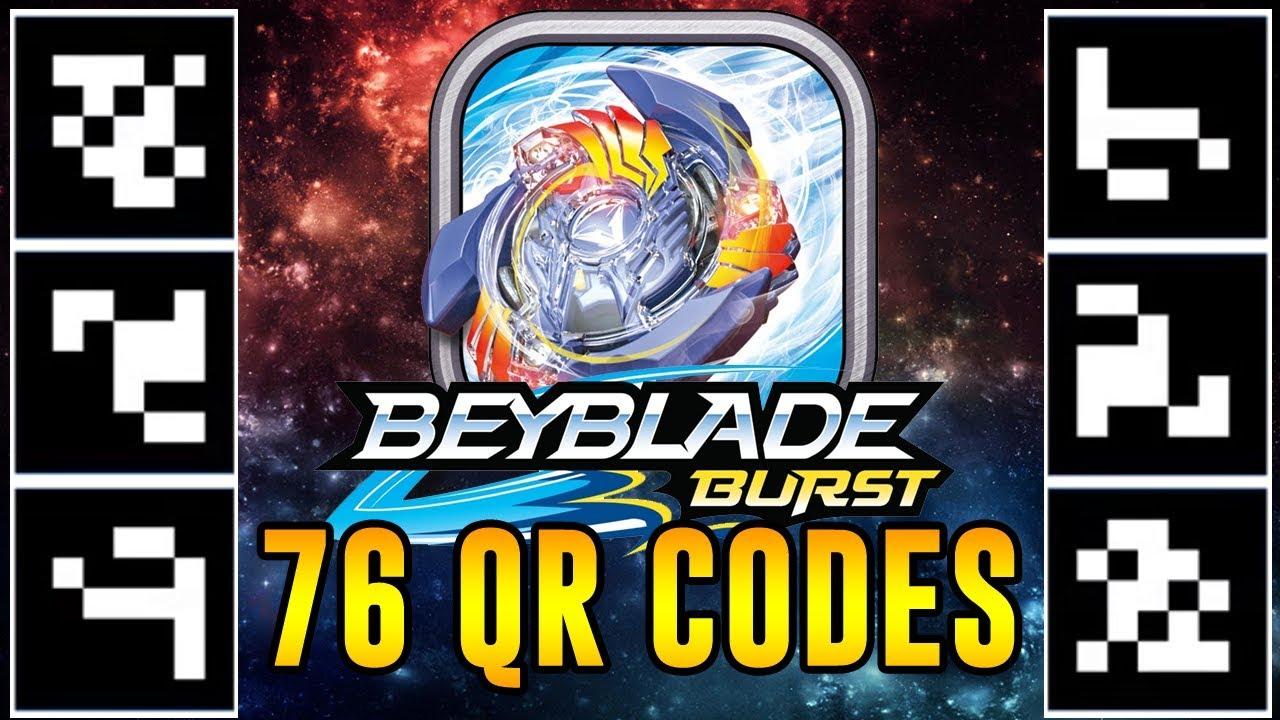beyblade burst qr codes images