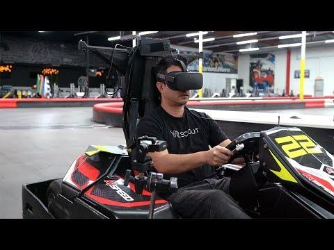 Real Life VR GO KART RACING!!!
