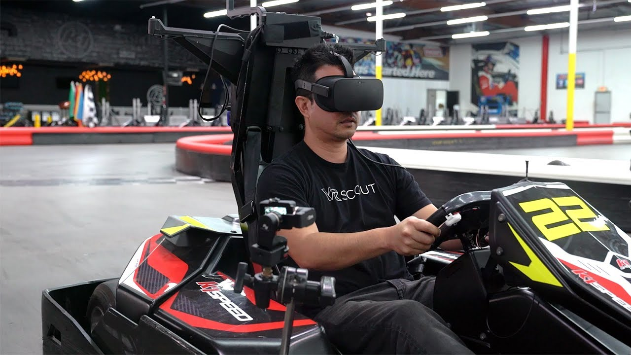 Master of Shapes Combines VR Racing With Real Go Karts - VRScout