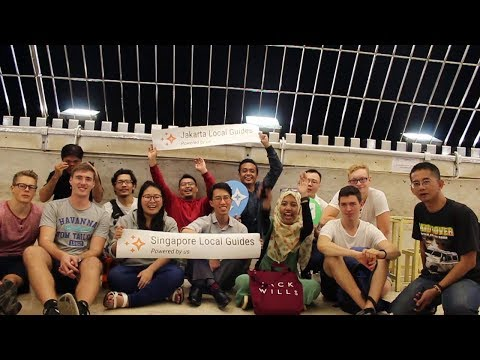 Meet Up Singapore Local Guides and Jakarta Local Guides