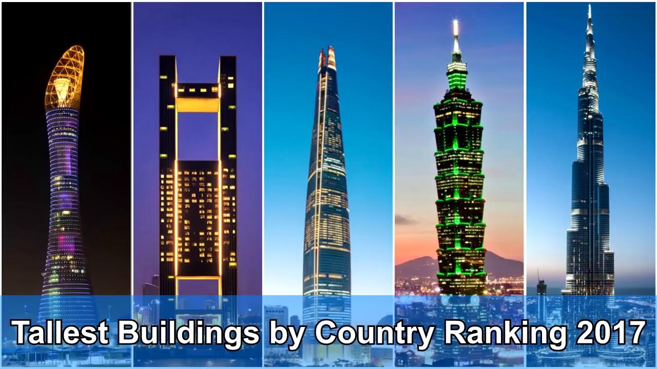 Tallest Buildings by Country Ranking 2018 - Самые высокие здания по странам Рейтинг 2018