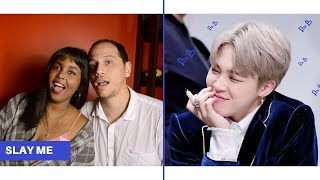 BTS JIMIN BEING A LIVING MOCHI REACTION (BTS REACTION)