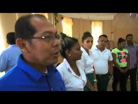 DOCENTES Y ESTUDIANTES DE BICU – RECIBE TALLER REFERENTE A TRATA DE PERSONA