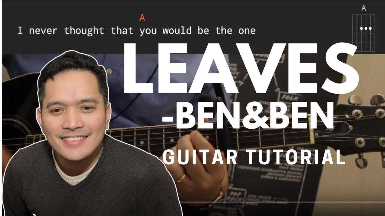 Leaves Guitar Tutorial Benben
