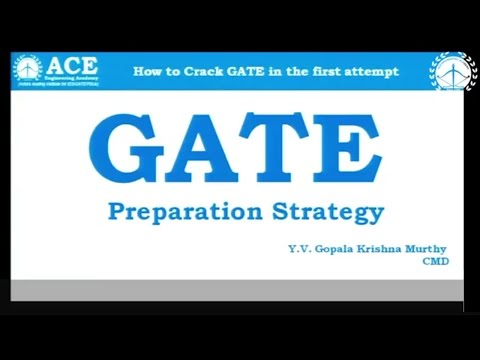 GATE Preparation Strategy